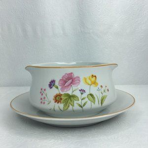 Mikasa Summer Melody China Gravy Boat